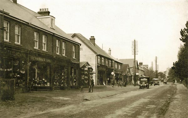 Station Road North 1920s